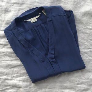 Max studio 100% silk blouse S